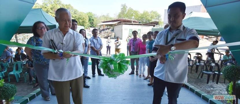 Blessing & Inauguration of the LORMA Pavilion